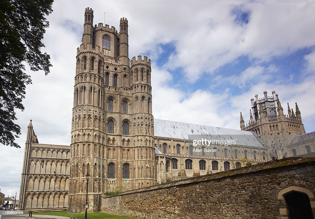 Exterior of Ely Cathedral : Stock Photo