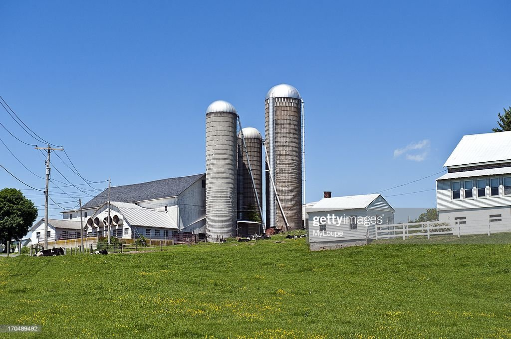 Exterior of farm Lancaster Pennsylvania United States