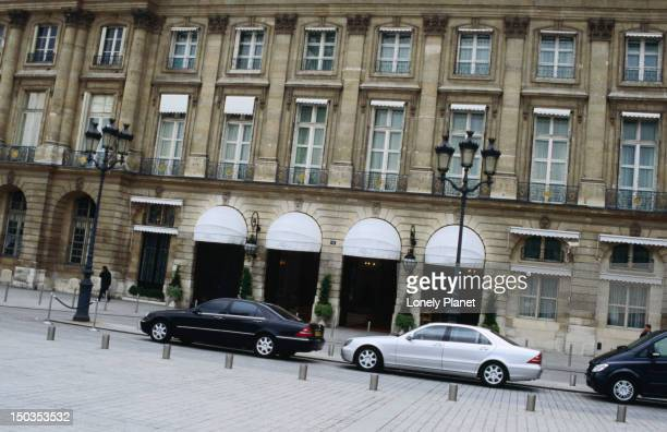 Exterior of Hotel Ritz Paris.