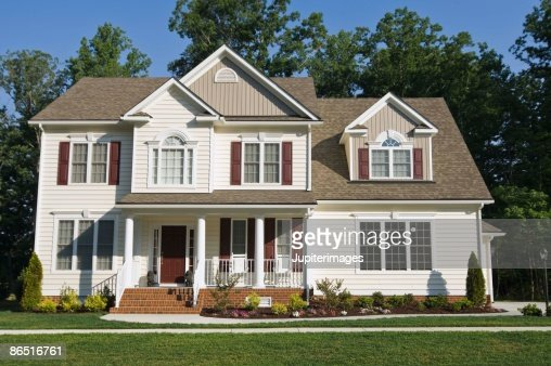 Picture Of House exterior of house stock photo | getty images