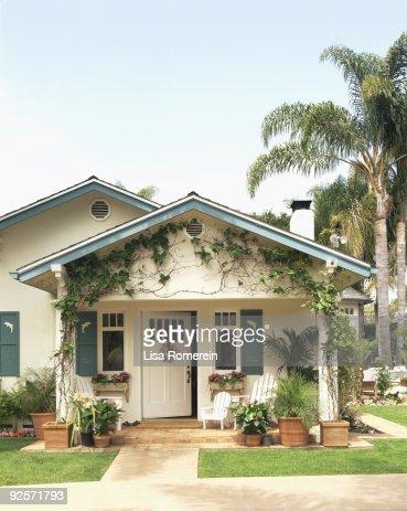 Exterior of house , Santa Barbara , California