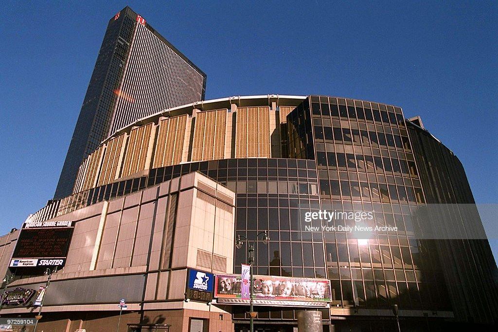 Exterior of Madison Square Garden
