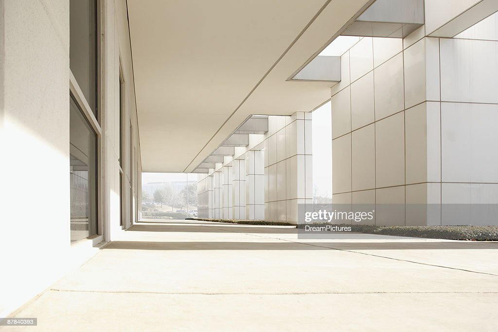 Exterior of modern office buidling : Stock Photo