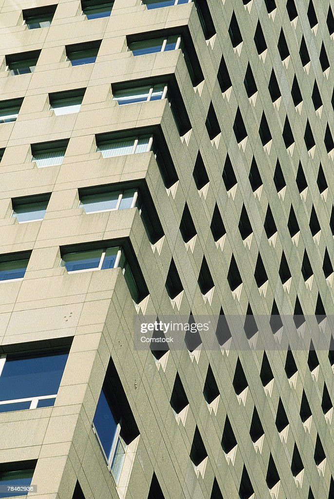 Exterior of modern office building : Stock Photo