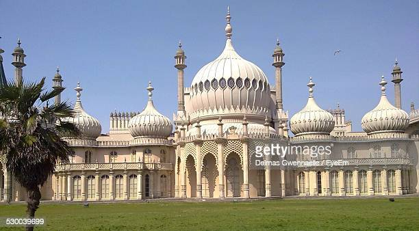 Exterior Of Royal Pavilion Against Clear Sky