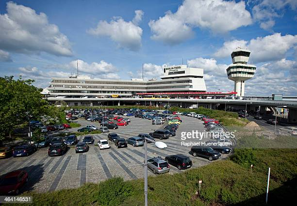 Exterior of the Berlin Tegel Airport on August 15 in Berlin Germany Berlin Tegel Airport is the main international airport of Berlin Photo by Raphael...