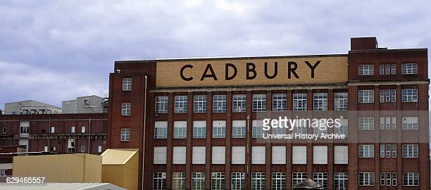 Exterior of the Cadbury's Chocolate Factory in Birmingham Dated 2015