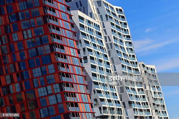 exterior of the Calypso apartment building in Rotterdam