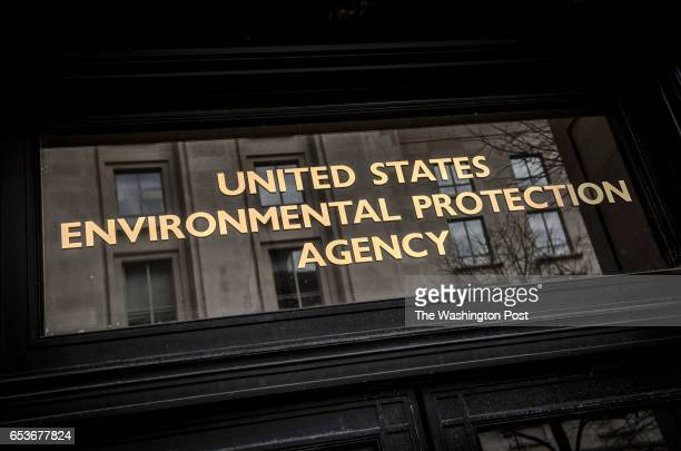 Exterior of the Environmental Protection Agency on March 2017 in Washington DC