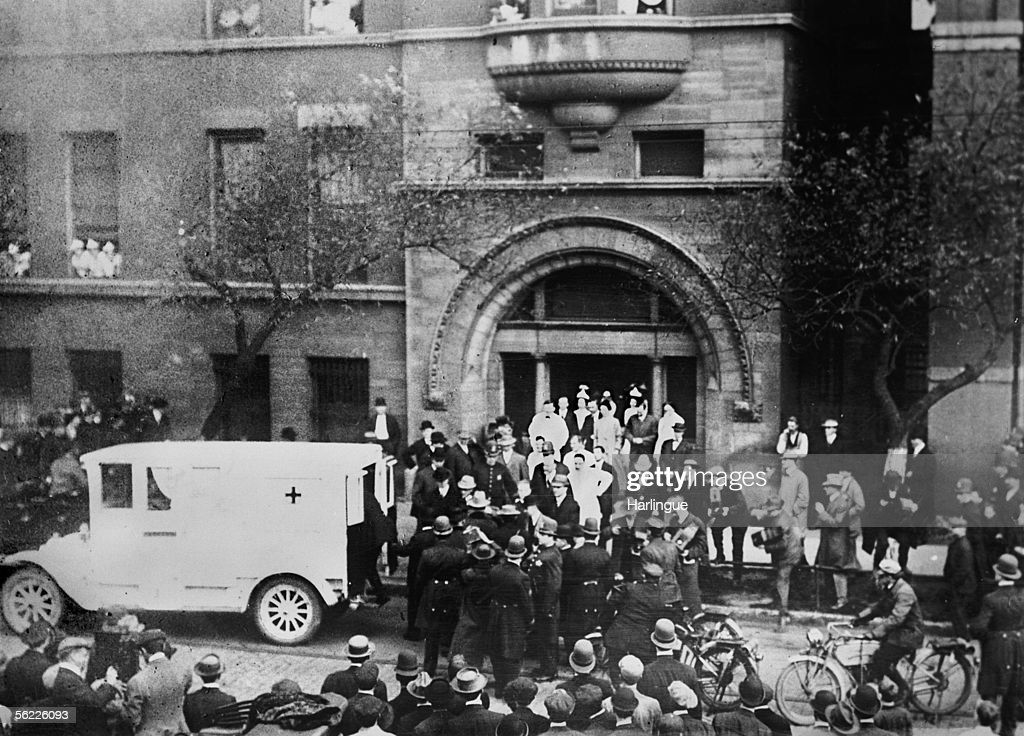 Exterior Of The Hospital Where US President Theodore Roosevelt Was Treated Following An Assassination Attempt By