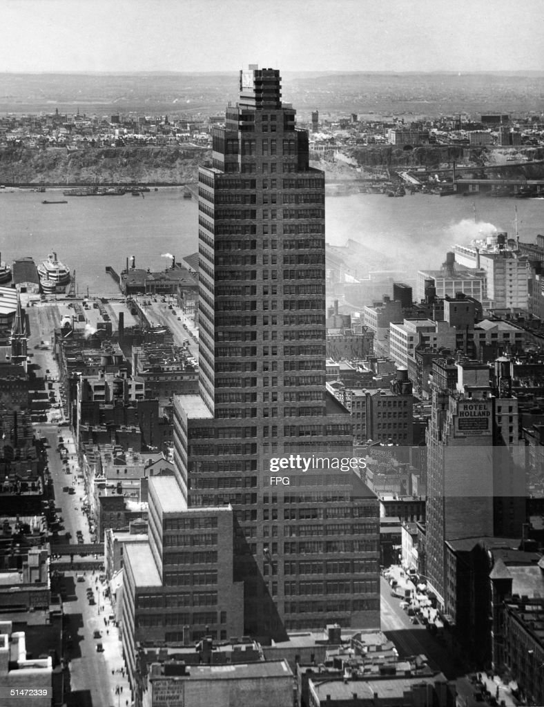 Exterior Of The McGraw Hill Building, Designed By Raymond Hood, Completed  In 1931 Amazing Design
