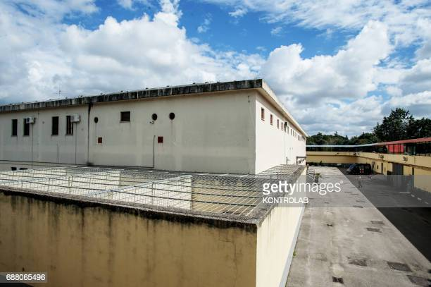 Exterior of the Military prison in Santa Maria Capua Vetere southern Italy