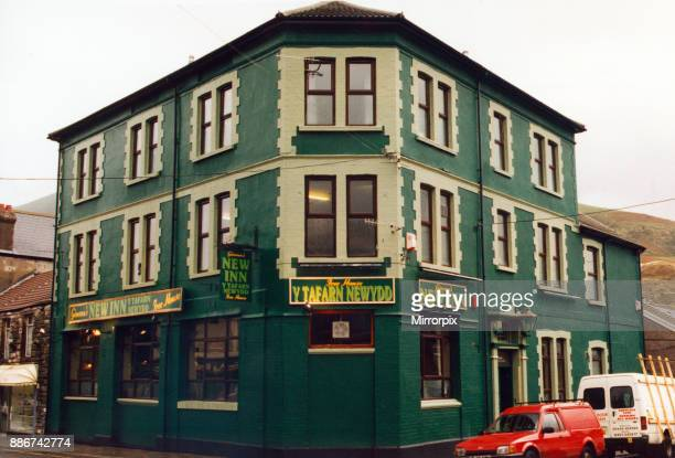 Exterior of the New Inn at Ton Pentre which has reopened following a fire November 1996