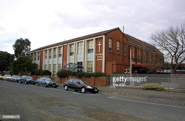 Exterior of the St Alipius Parish School in Ballarat 16 June 2002 THE AGE Picture by EDDIE JIM