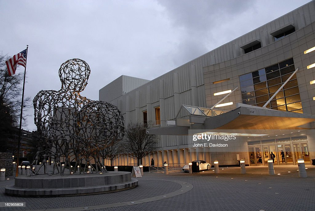 Exterior of the Woodruff Arts Center in which the 'Kunta Kinteh Island: Coming Home Without Shackles' premiered at the Woodruff Arts Center on March 1, 2013 in Atlanta, Georgia.