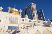 Exterior of Trump Taj Mahal casino