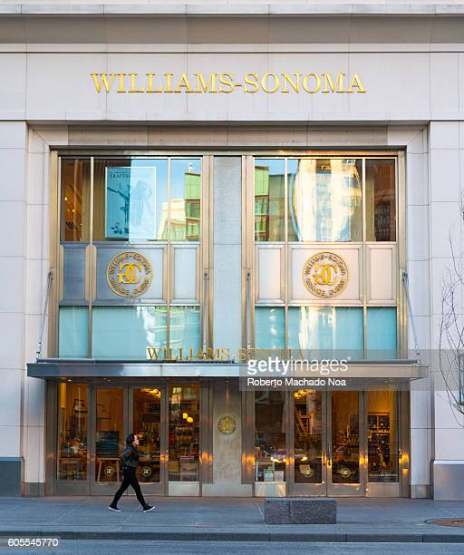 Exterior of Williams Sonoma store in Toronto Williams Sonoma Inc is an American company that sells kitchen wares and home furnishings It is one of...