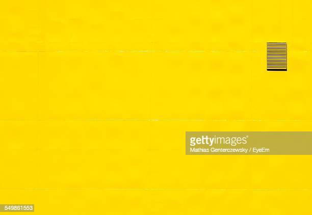 Exterior Of Yellow Wall
