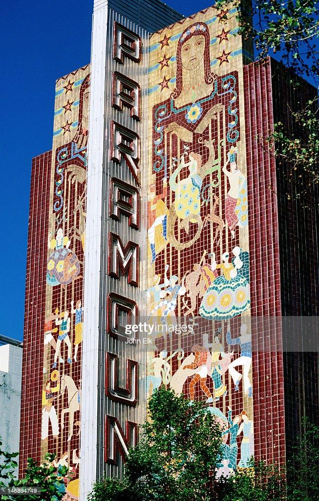 Exterior, Paramount Theater.