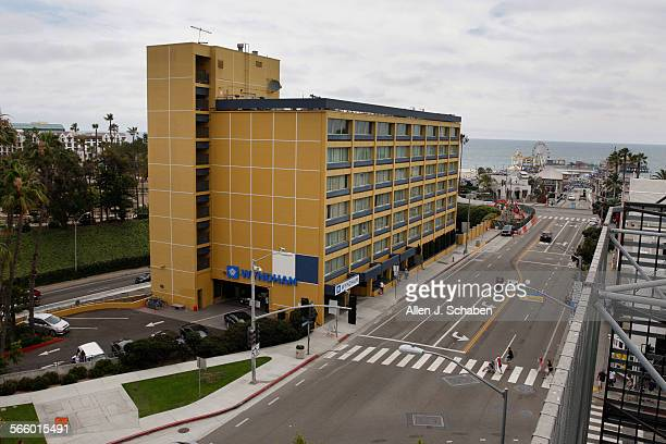 Wyndham stock photos and pictures getty images for Dog hotel santa monica