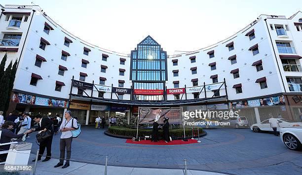 Exterior view during The 2014 American Film Market at the Loews Santa Monica Beach Hotel on November 5 2014 in Santa Monica California