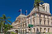 Parliament House in Brisbane Queensland Australia.