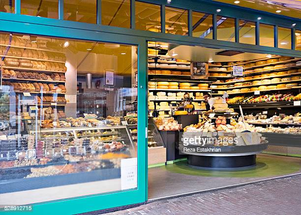 Exterior view of cheese and bread shop