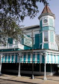 Exterior view of Commander's Palace restaurant in New Orleans Louisiana on January 27 2005