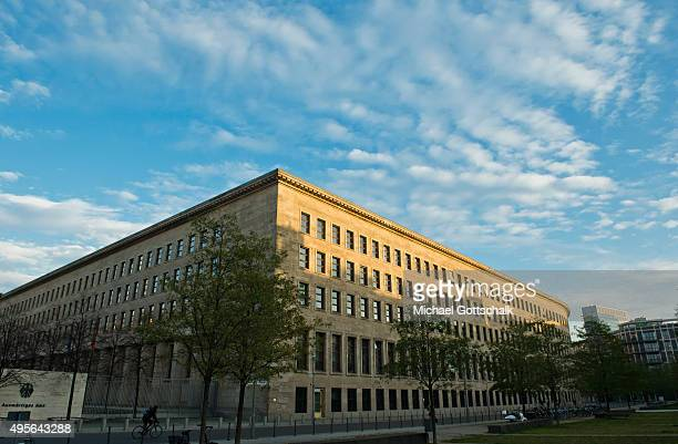 Exterior View of German Ministry of Foreign Affairs or Bundesaussenministerium or Auswaertiges Amt on November 04 2015 in Berlin Germany
