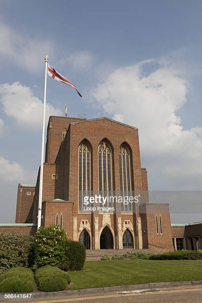 Exterior view of Guildford Cathedral