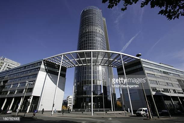 ESSEN Exterior view of RWE headquarters in Essen