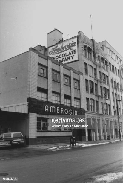 Exterior view of the Ambrosia Chocolate Co factory where serial killer Jeffrey Dahmer was employed
