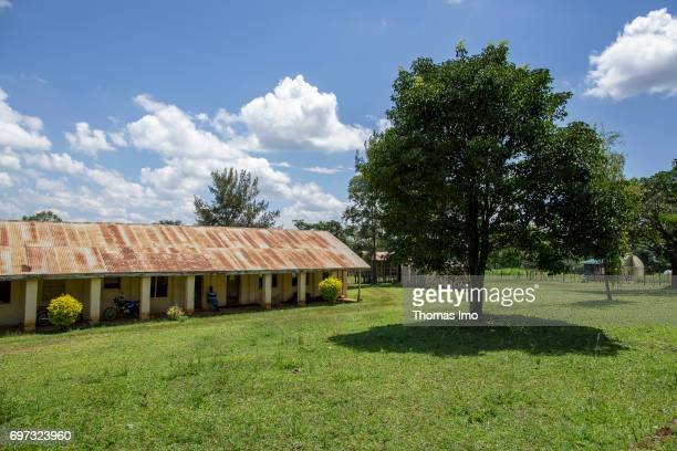 Exterior view of the Bukura Agricultural Training Center in Kakamega County on May 16 2017 in Kakamega County Kenya