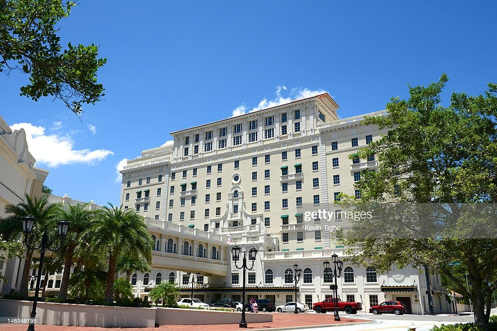Exterior view of The Church of Scientology's Fort Harrison Hotel on July 14, 2012 in Clearwater, Florida.