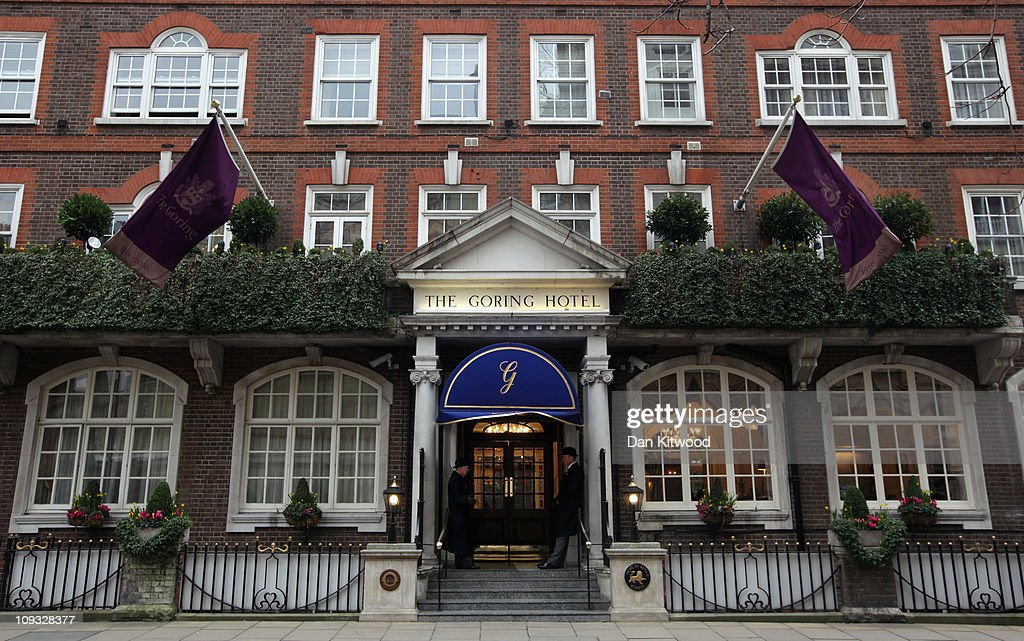 Exterior view of The Goring Hotel on February 21, 2011 in London, England.