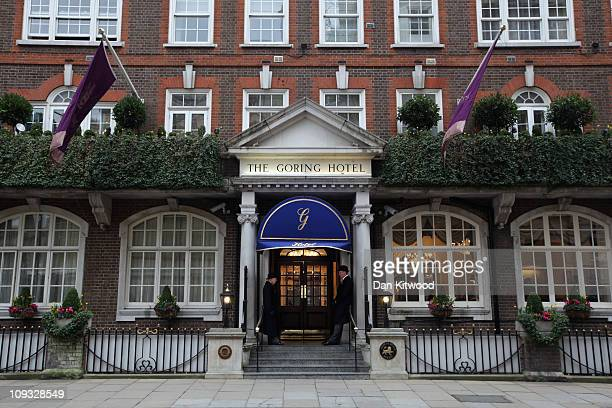 Exterior view of The Goring Hotel on February 21 2011 in London England