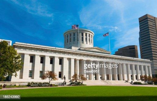 Exterior view of the Ohio Statehouse