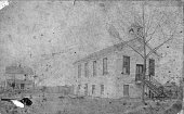 Exterior view of the Pilgrim Congregational Church in Savannah GA late nineteenth century From 1878 to 1889 Chicago Defender founder Robert...