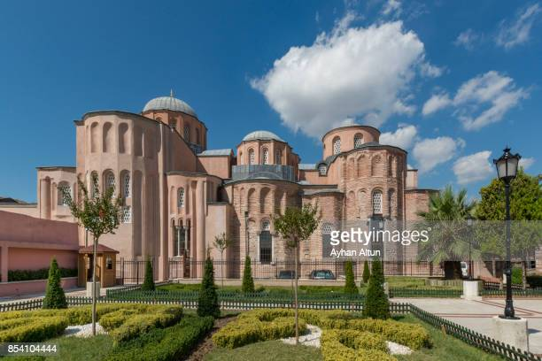 Exterior view of The Zeyrek Mosque or Monastery of the Pantocrator in Istanbul,Turkey