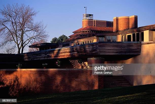 Exterior View of 'Wingspread' by Frank Lloyd Wright