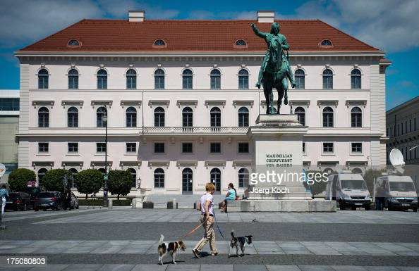Exterior view Siemens Headquarters on July 31 2013 in Munich Germany Siemens AG Europe's largest electronics and electrical engineering company has...