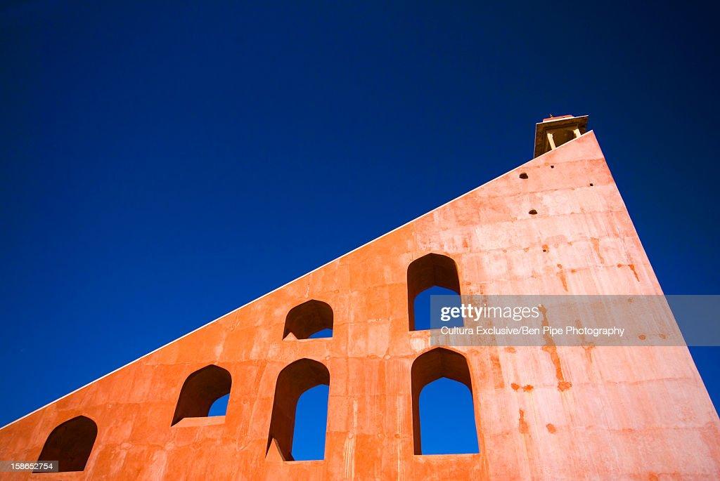 Exterior wall of Jantar Mantar : Stock Photo