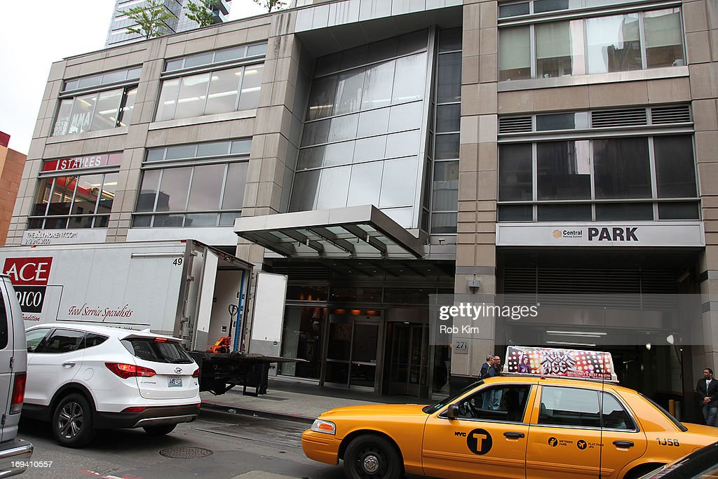 Exteriors shots of Amanda Bynes residence who was arrested on May 23 on alleged charges of reckless endangerment, tampering with evidence and criminal possession of marijuana on May 24, 2013 in the Manhattan burough ofNew York City.