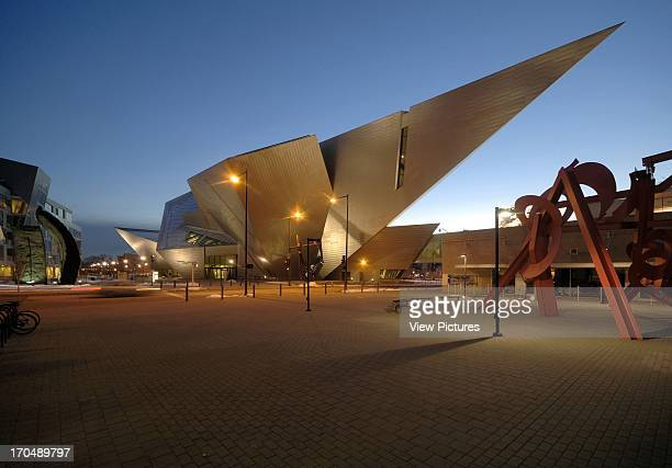 External view Extension to the Denver Art Museum Frederic C Hamilton Building Museum North America United States CO Daniel Libeskind