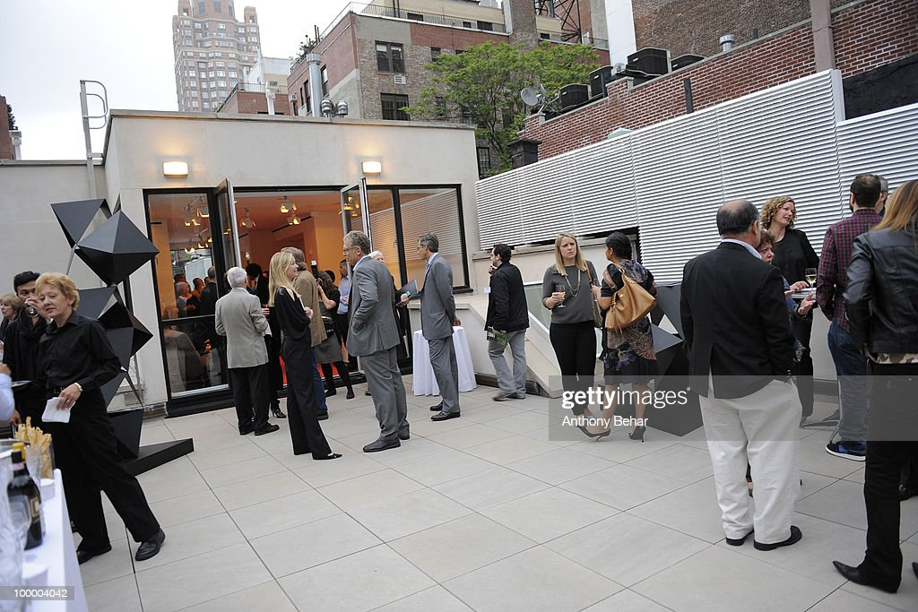 External view of at the Vilcek Foundation Gallery on May 19, 2010 in New York City.