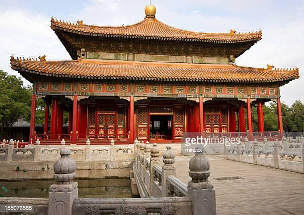 External view of Temple of Confucius in Beijing