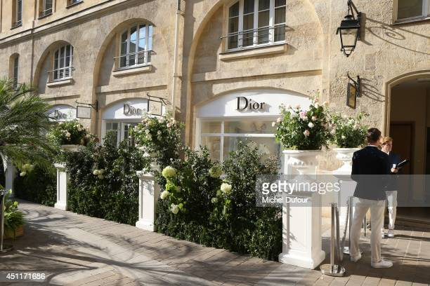 External view of the Baby Dior shop on June 24 2014 in Paris France