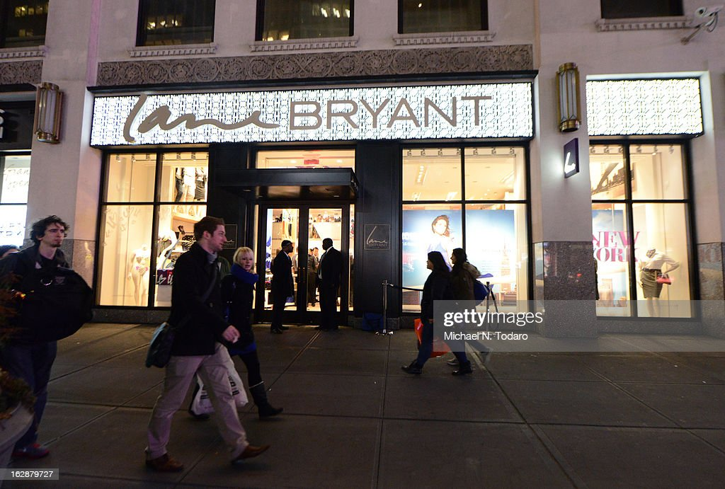 External view of the opening party for the Lane Bryant 34th Street Flagship Store on February 28, 2013 in New York City.