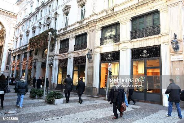 Exteror view of the entrance of the Park Hyatt Milano Hotel on December 19 2008 in Milan Italy It is anticipated that Victoria Beckham will accompany...