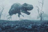 Extinction event, Dinosaurs, Cretaceous–Paleogene extinction event approx. 66 millions years ago.